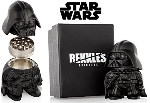 Star Wars Herb Grinder, Darth Vader Weed Grinder With Pollen Keef Catcher, Perfect Size 2