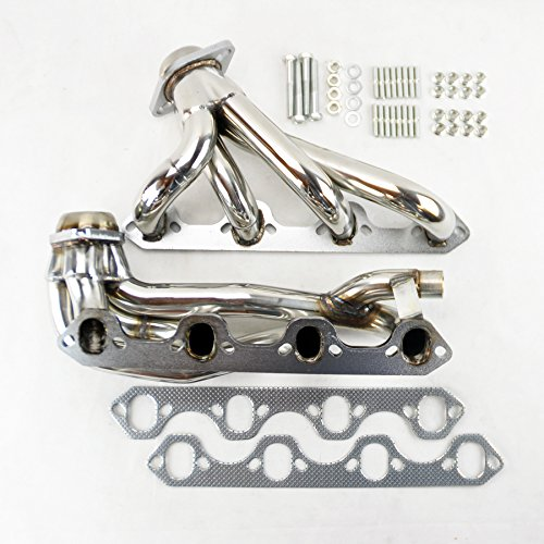 - Ford F150 F250 Bronco 87-96 5.8L V8 Shorty Stainless Exhaust Manifold Headers
