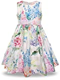 Kyпить Bonny Billy Toddlers Baby Girls Easter Floral Dress 3t White на Amazon.com