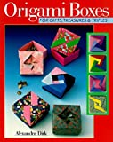img - for Origami Boxes For Gifts, Treasures & Trifles by Alexandra Dirk (1997-06-30) book / textbook / text book