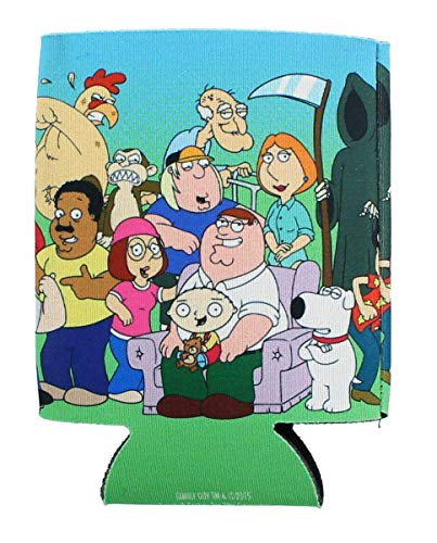 Family Guy Cast Can Cooler - Collectors Item