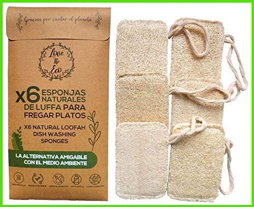 Love The Eco® Esponjas De Luffa para Fregar