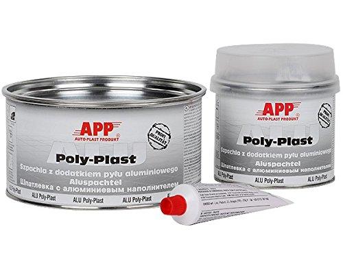 Aluspachtel ALU POLY-PLAST incl. Hä rter 1, 8kg APP
