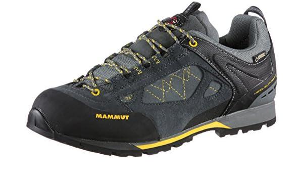 Mammut Hombre Ridge Low GTX Trekking de & Senderismo Zapatos, Gris, 43 1/2: Amazon.es: Deportes y aire libre
