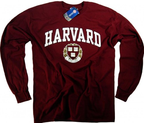 Harvard Shirt T-Shirt Hoodie Sweatshirt University Business Law Apparel Clothing Medium by Officially Licensed by Harvard University (Image #2)