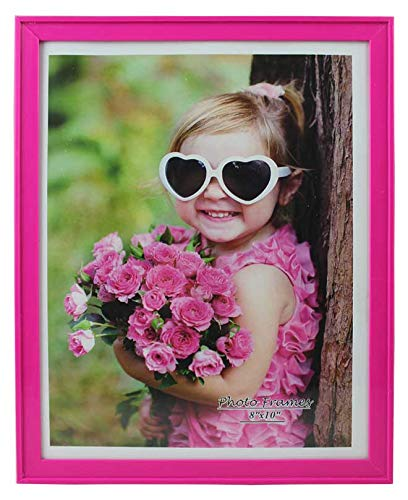 PP Modern Collection Photo Frame Hot Pink Plastic (8