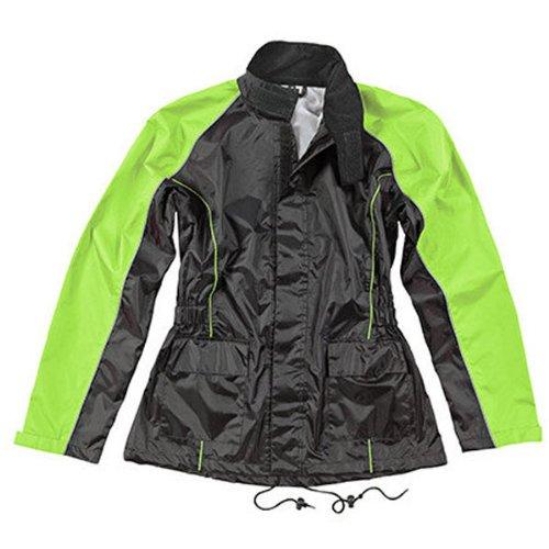 Joe Rocket 'RS-2' Womens Hi-Visibility Yellow Rain Suit - X-Large by Joe Rocket