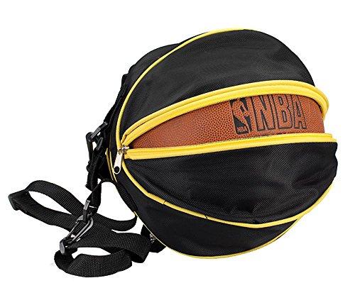 TaoMi- Bundle de lazo del bolso de hombro hombres y las mujeres del baloncesto ocasional Maleta de Mano ( Color : Azul oscuro ) Negro
