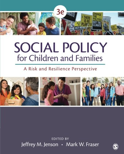 Social Policy for Children and Families: A Risk and Resilience Perspective (Volume 3)
