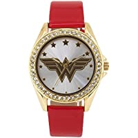 Wonder Woman WOW5023 Red Band Watch