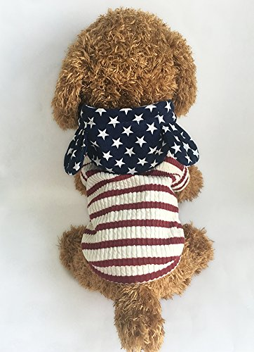 Pictures of EastCities Pet Clothes Dog HoodiesSmall Dogs CatRed 6