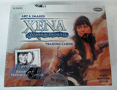 Art & Images Xena The Warrior Princess Trading Cards Box Set - 20 Packs by Xena
