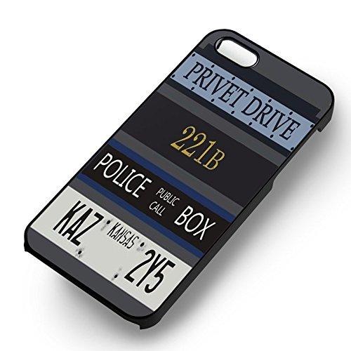 All Fandoms pour Coque Iphone 6 et Coque Iphone 6s Case (Noir Boîtier en plastique dur) Q1N3OS