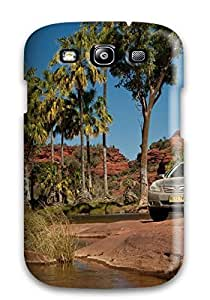 Galaxy S3 Case Cover - Slim Fit Tpu Protector Shock Absorbent Case (subaru)