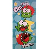 Cut The Rope Om Nom - Toalla (70 x 140 cm)