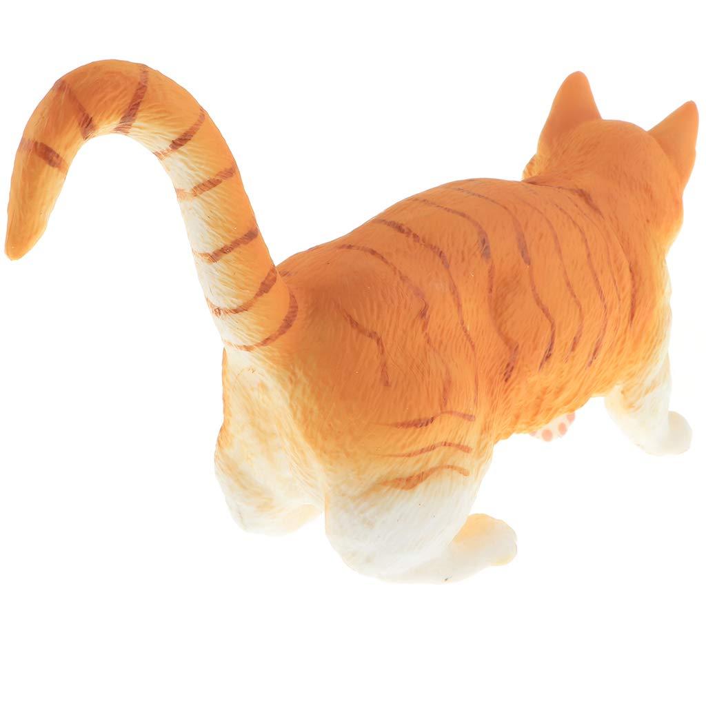 NON Figura De Animales Salvaje//Dom/ésticos Realista Pl/ástico En Miniatura Calamar