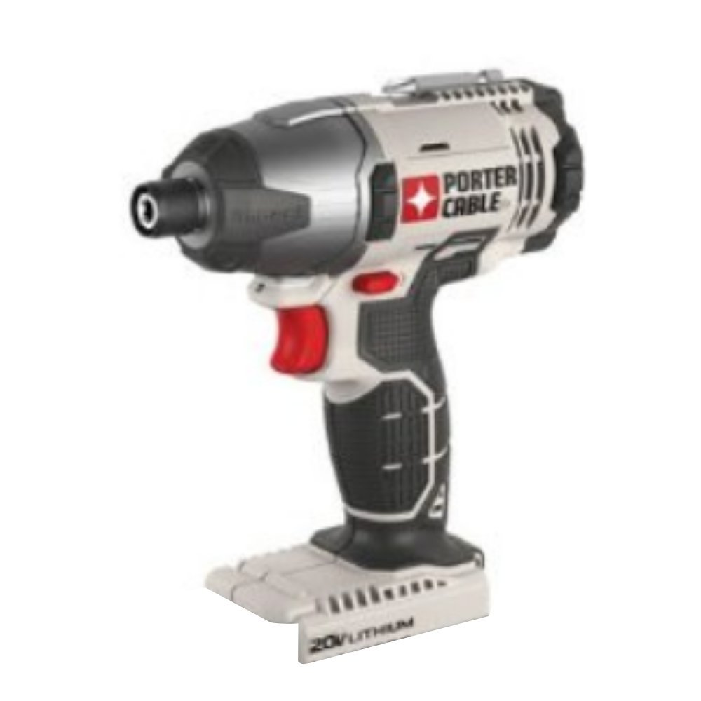 Porter Cable 20v Max Lithium Ion 1/4'' Hex Impact Driver (PCC641 Bare Tool)
