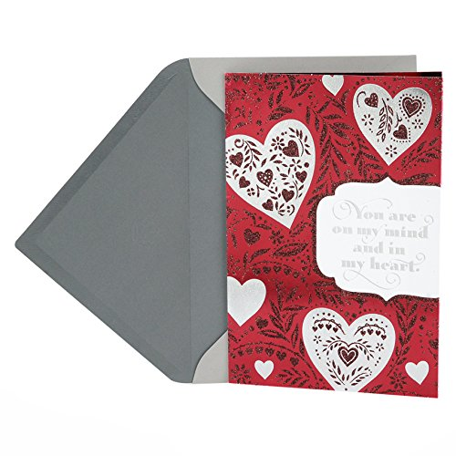 Hallmark Valentine's Day Greeting Card (Floral Hearts)