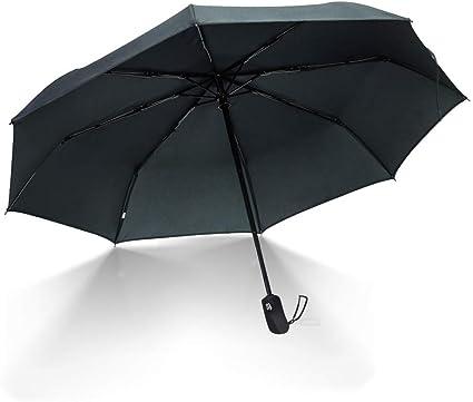 Compact Folding Repel Windproof Travel Sun Rain Umbrella with Teflon Coating