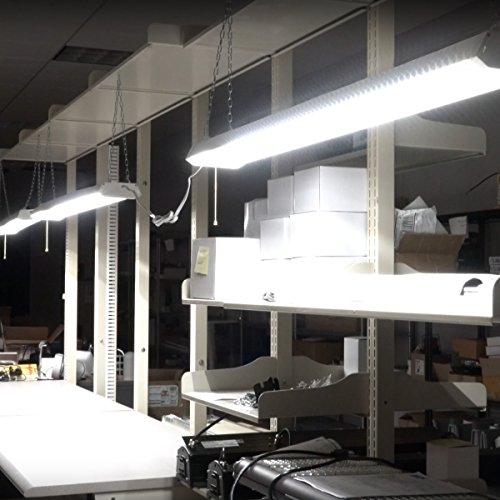 Linkable LED Shop Light For Garage, 42W 5200lm 4FT, 6000K
