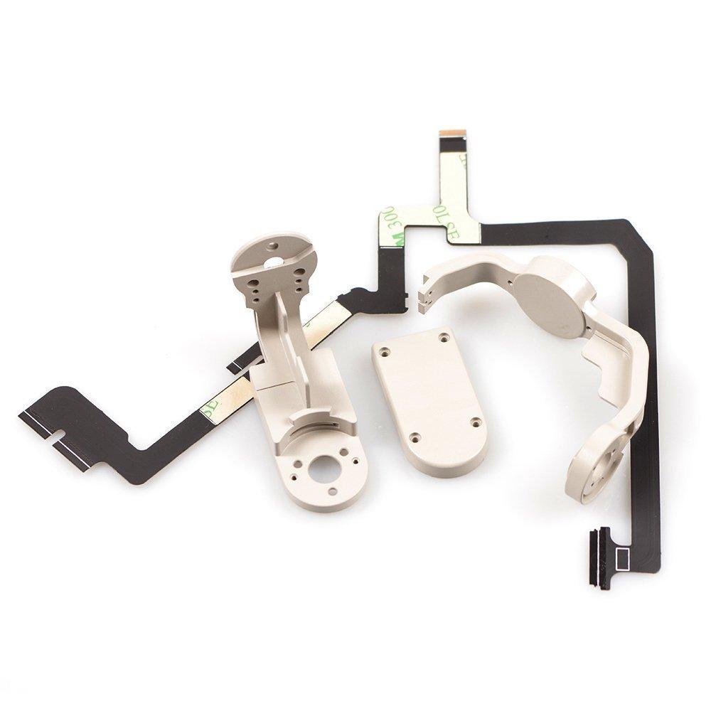 TAOKE Repair Kit Yaw + Roll Arm + Cover + Gimbal Cable for DJI Phantom 4