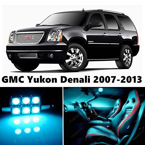 E Blue Light Interior Package Deal for GMC Yukon Denali 2007-2013 ()