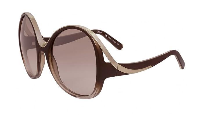 außergewöhnliche Farbpalette an vorderster Front der Zeit schnell verkaufend Chloé Sonnenbrille (CE713S 277 61): Amazon.de: Bekleidung