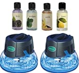 2 New Rainbow Rainmate IL Air Freshener Purifier Room Aromatizer w/ 4 Fragrances by Rainbow/Rexair