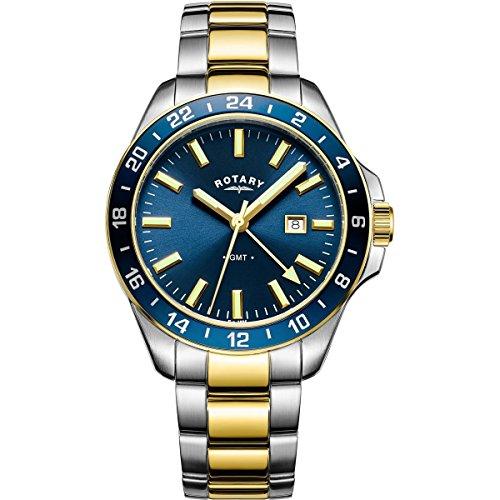 Rotary Gents Havana GMT Quartz Watch GB05082/05