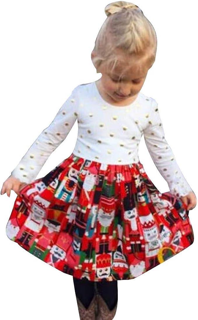K-youth Ropa para Bebe Niña Navidad Vestidos para Niñas De Navidad ...