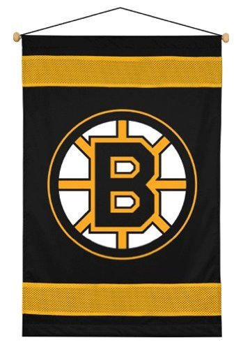 Sports Coverage NHL Boston Bruins Sideline Wall Hanging - Nhl Wall