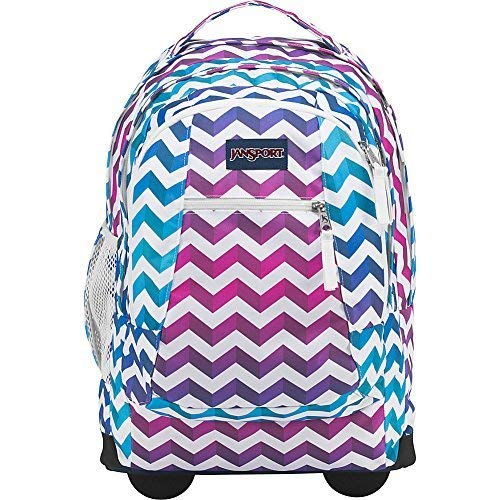 80b7ab5c4201 Galleon - JanSport Driver 8 Rolling Backpack (Shadow Chevron