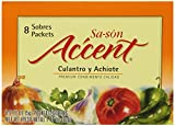 Sa-son Accent Seasoning, Culantro y Achiote (Coriander & Annato Seasoning), 8 Packets (Pack of 36)