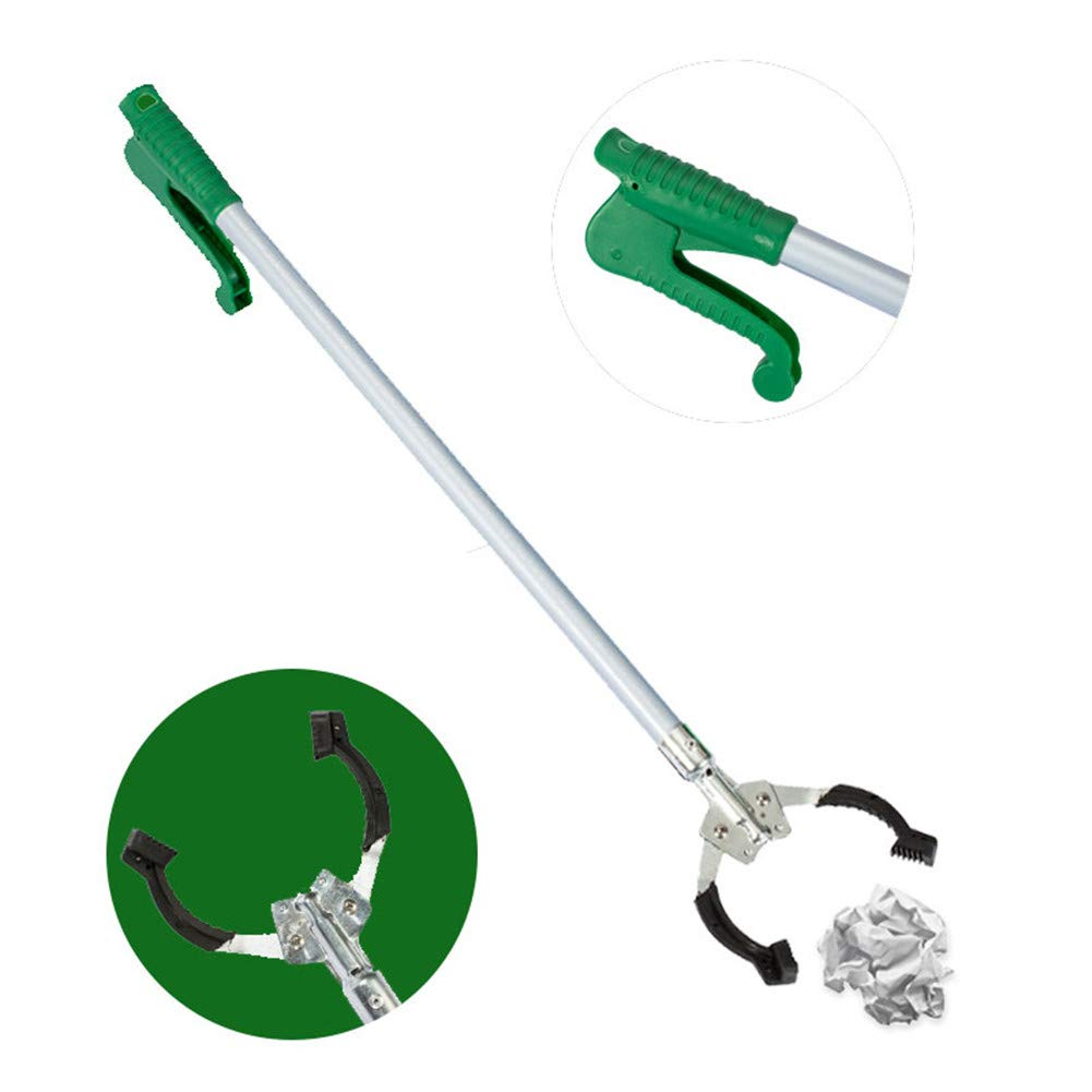 WLIXZ Long Grabber Reacher, for Trash Claw Pick up, Litter Picker, Garden Nabber, Reaching Assist Tool,73cm