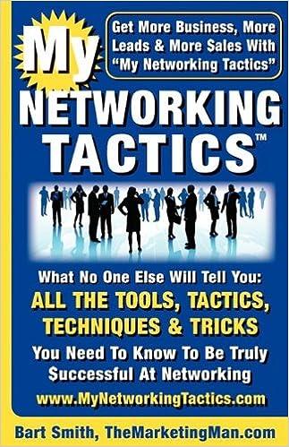 Book My Networking Tactics