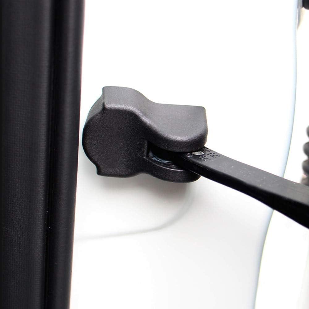 Udele-Store Set for Nissan Qashqai Murano KOLEOS Altima SENTRA ALMERA Juke Door Sticker Arrester Door Lock Cover Stopper Protective CASE