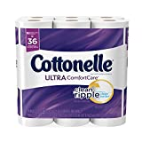 Cottonelle Ultra ComfortCare Double Roll Toilet Paper, Bath Tissue, 18 Rolls