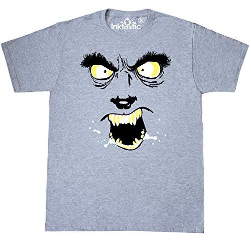 Inktastic Monster Faces Wolfman T-Shirt Medium Athletic