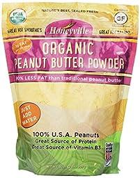 Honeyville Organic Peanut Butter Powder - 2 Pound Bag