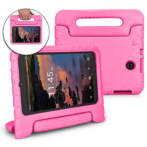 Bolete Case for T-Mobile Alcatel A30 / Alcatel 3T 8-inch Tablet Case 2018 - Childproof Rugged Protector Grip with Stand Kids Cover for Alcatel A30 8