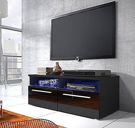 Elene lettiemobili modelo-Mueble para TV con led, color negro: Amazon.es: Hogar