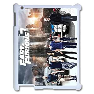 Customized Protective Hard Plastic Case for Ipad 2,3,4 - The Fast and The Furious personalized case at CHXTT-C
