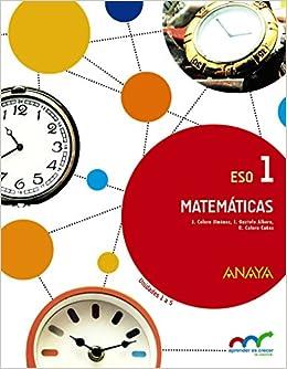 Matemáticas 1. (trimestre 1, 2, 3) - 9788467850734: Amazon.es ...