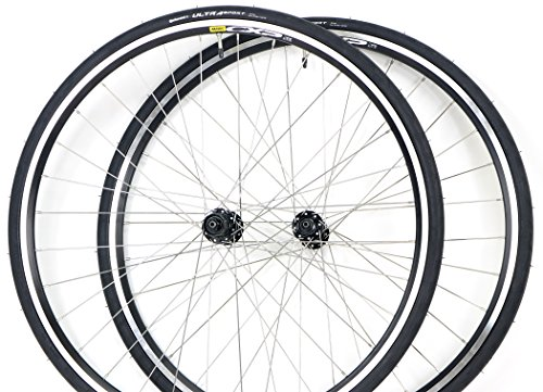 Mavic / Shimano Road Bike Wheel Set Mavic CXP22 700c Rims + FREE Continental Tires (Bike Felt Tires)