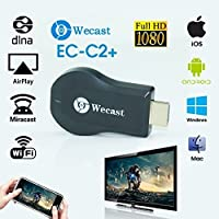 Wecast Dongle Mirror Cast Android Mini Pc Tv Stick Airplay Dlna Wireless Hdmi