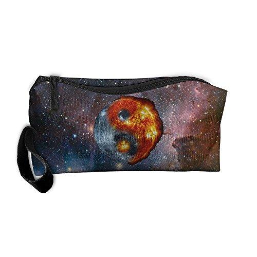 Sun Moon Yin Yang Portable Multi-function Handbag All-match Sewing Kit Cosmetic Bag from Kkky