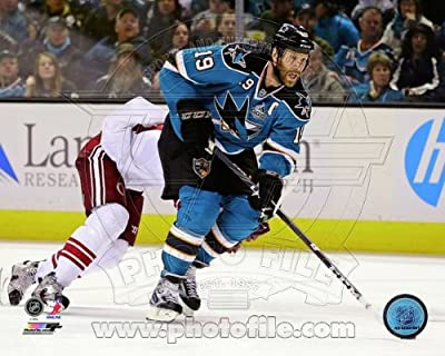 Joe Thornton San Jose Sharks 2013 NHL Action Photo 8x10 #1