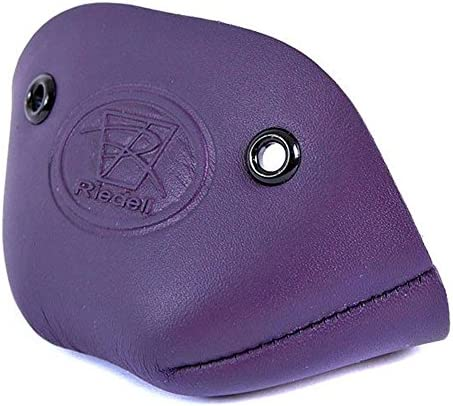 Riedell Leather Toe Caps Pair - Purple