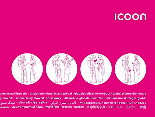 ICOON global picture dictionary (magenta) - Bildwörterbuch