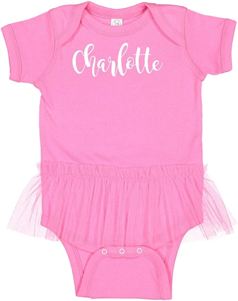 Everyone My Name is Charlotte Mashed Clothing Hi Personalized Name Toddler//Kids Short Sleeve T-Shirt